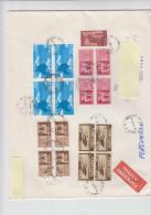 ITALIA  1987 - Lettera - Sassone  1792 + PA + EX I - Industria  Gas - 1981-90: Storia Postale
