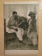 1912 Gypsy Musicians Violinist Postcard - Europe