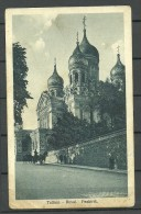 Estland Estonia Ca 1920 Ansichtskarte Tallinn Reval Aleksander Nevski Cathedrale Jaan Vinnal Photo - Estonie