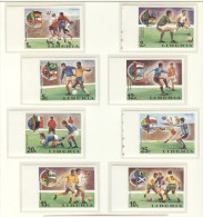 LIBERIA Imperforated Set Mint Without Hinge - Coppa Del Mondo