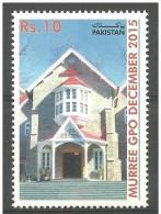 PAKISTAN 2015 - Murree GPO Building, December 2015, MNH - Pakistan