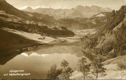 SWITZERLAND - Lungernsee Mit Wettternorngruppe - 1938 Good Postmark & Slogan - BE Berne