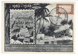 5 Années De Philatélie à Colomb-Béchar 1958 - Algérie (1962-...)