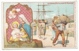 CHROMO AIGUEBELLE:  PORTEFAIX, Nativité De La Vierge.En Excellent  état, Avec Descriptif Au Dos - Aiguebelle