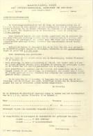 STIB - FEUILLETS HORAIRES -DIENTSREGELINGSBLAADJES (Formulaires Bilingues - Français Et Néerlandais) - Transportation