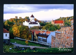 LITHUANIA  -  Vilnius  Panorama  Used Postcard As Scans - Lithuania
