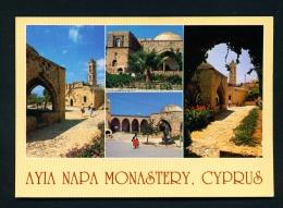 CYPRUS  -  Ayia Napa Monastery  Used Postcard As Scans - Cyprus
