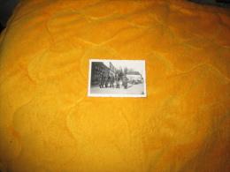 PETITE PHOTO ANCIENNE MILITAIRE DE 1941. / ALLEMAND LIEU INCONNU / ANOTATION EN ALLEMAND A TRADUIRE. - Guerre, Militaire