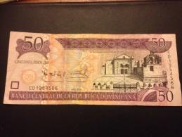 50 Pesos 2008 - República Dominicana