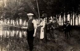 72 - LA CHARTRE SUR LE LOIR  Partie De Pêche (carte Photo) Certifiée Par Le Vendeur Du Lot De Cartes - Autres Communes