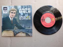 EP 45T JACK MELS SOUS LE LABEL PATHE  EG 1018 M ( ARGE E/D ) - Rock