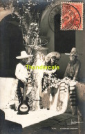 CARTE DE PHOTO  MAXIMUM CARD MEXIQUE MEXICO CHARROS 1936 - Mexique