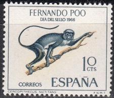 Fernando Poo 1966 Michel 247 Neuf ** Cote (2002) 0.30 Euro Suricate - Fernando Poo