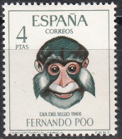 Fernando Poo 1966 Michel 250 Neuf ** Cote (2002) 0.60 Euro Suricate - Fernando Poo