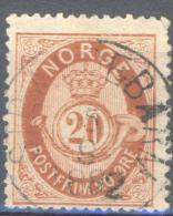 _6Wz-990: Y.&T N° 27 - Norvège