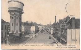 CHATEAU D'EAU Et La Rue Du Château D'eau - DUNKERQUE - Châteaux D'eau & éoliennes