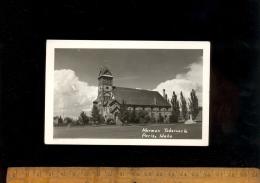 PARIS Idaho USA Etats Unis D'Amérique : Mormon Tabernacle 1952 Church  Eglise Mormone - Etats-Unis