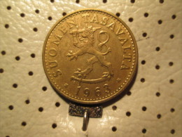 FINLAND 50 Pennia 1963 1 Penny 1963    # 4 - Finland
