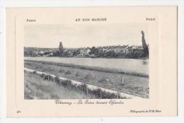 Cpa THOMERY La Seine Devant EFFONDRE  - Carte ND 362 Au Bon Marché Paris - France