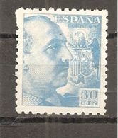 España/Spain-(MNH/**) - Edifil  924 - Yvert 682 - 1931-50 Nuevos & Fijasellos