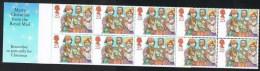 Gran Bretaña Carnet 1994 ** MNH 1785 10 Sellos De 25 - Carnets