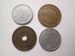 JAPAN 4 Coins   # 4 - Japan