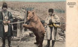 61Fb   Allemagne Montreur D'ours Roumain Rumänische Volkstypen Ursari - Bears