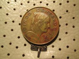 MEXICO 5 Centavos 1965  # 4 - Mexico