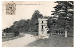 HEROUVILLE  SAINT CLAIR--1903--Entrée Du Château  Le Pargneur éd L.D--Beau Cachet CAEN Sur 1c Type Blanc - Herouville Saint Clair