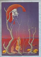"""Carte Moderne Grande Taille - 12x17cm - """"L'Amour En Ce Pays"""" - Jean Paul Clerenpar - Illustrators & Photographers"""