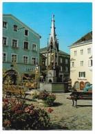 Kufstein - Tirol - Unterer Stadtplatz - Marienbrunnen - Kufstein
