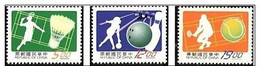 1997 Sport Stamps Badminton Tennis Bowling