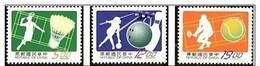 1997 Sport Stamps Badminton Tennis Bowling - Bowls