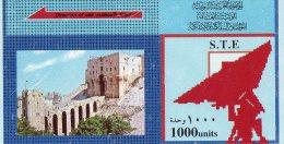 D02 - TELECARTE DE SYRIE - Syrie