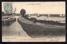 54-Toul, Pont Du Chemin De Fer Sur La Moselle - Toul