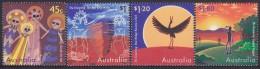 AUSTRALIA, 1997 THE DREAMING 4 MNH - Nuovi