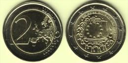 @Y@    Belgie   2 Euro Commemorative 2015  Flag - Belgium