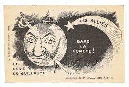 """CPA HUMORISTIQUE A. DUBRAY """"Le Reve De Guillaume"""" .Publicité Phoscao. - Humoristiques"""