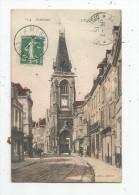 Cp , 80 , AMIENS , L´église SAINT LEU , Voyagée 1915 - Amiens