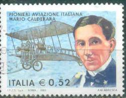 Italia Repubblica Usati -  160) 2702 - 2003  Mario Calderara Prima Scelta - 6. 1946-.. Republik