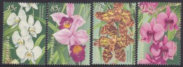 AUSTRALIA, 1998 ORCHIDS 4 MNH - 1990-99 Elizabeth II
