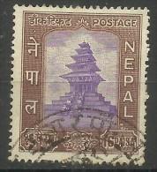 Nepal - 1959 Temple (UPU Admission) 16p Used   Sc 110 - Nepal