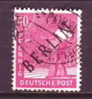 Berlin 9N12  (o)   BLACK OVPT. - [5] Berlin