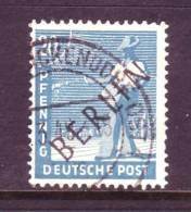 Berlin 9N8  (o)   BLACK OVPT. - [5] Berlin