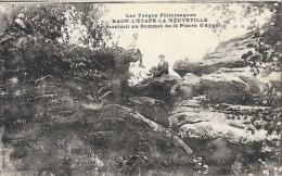 Raon-L'Etape-la-Neuville - En Montant Au Sommet De La Pierre D'Appel - Les Vosges Pittoresques - Carte C.L.B. - Raon L'Etape
