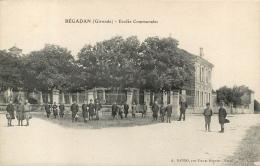 BEGADAN ECOLES COMMUNALES - Autres Communes