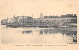 NORD  59  DUNKERQUE   BASSIN DE L'ARRIERE PORT  VUE GENERALE DE LA DEFENSE MOBILE - Dunkerque