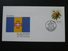 Flag Of Madeira 1991 FDC 65290 - Briefe