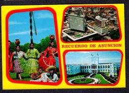 1987 PARAGUAY RECUERDO DE ASUNCION  FG V SEE 2 SCANS NICE STAMPS - Paraguay