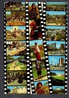 1985 GUATEMALA NICE PIC OF PEOPLE AND PROMENADES  FG V SEE 2 SCANS NICE STAMP POPOL VUH - Guatemala